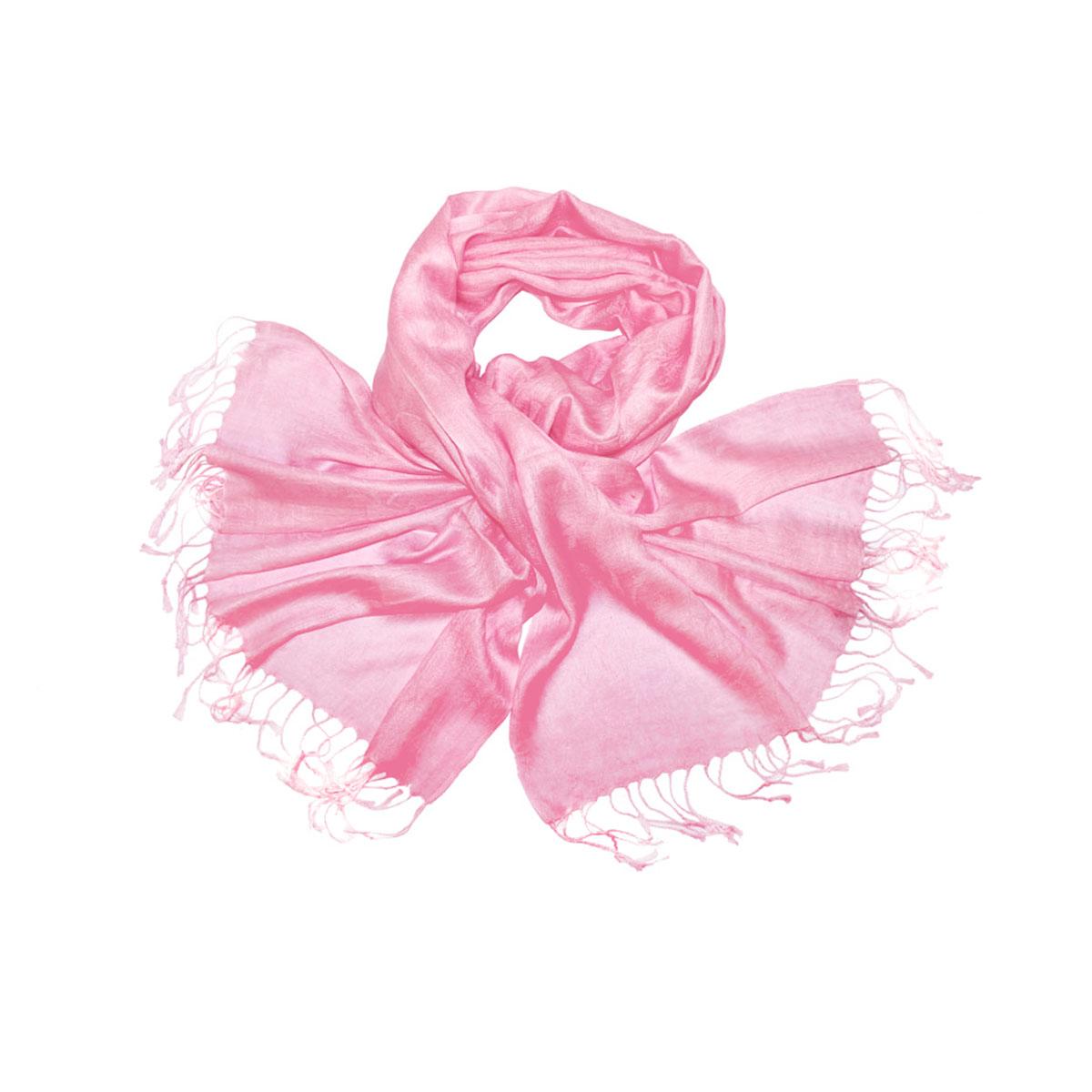 Палантин Ethnica, цвет: розовый. 440190н. Размер 70 см х 180