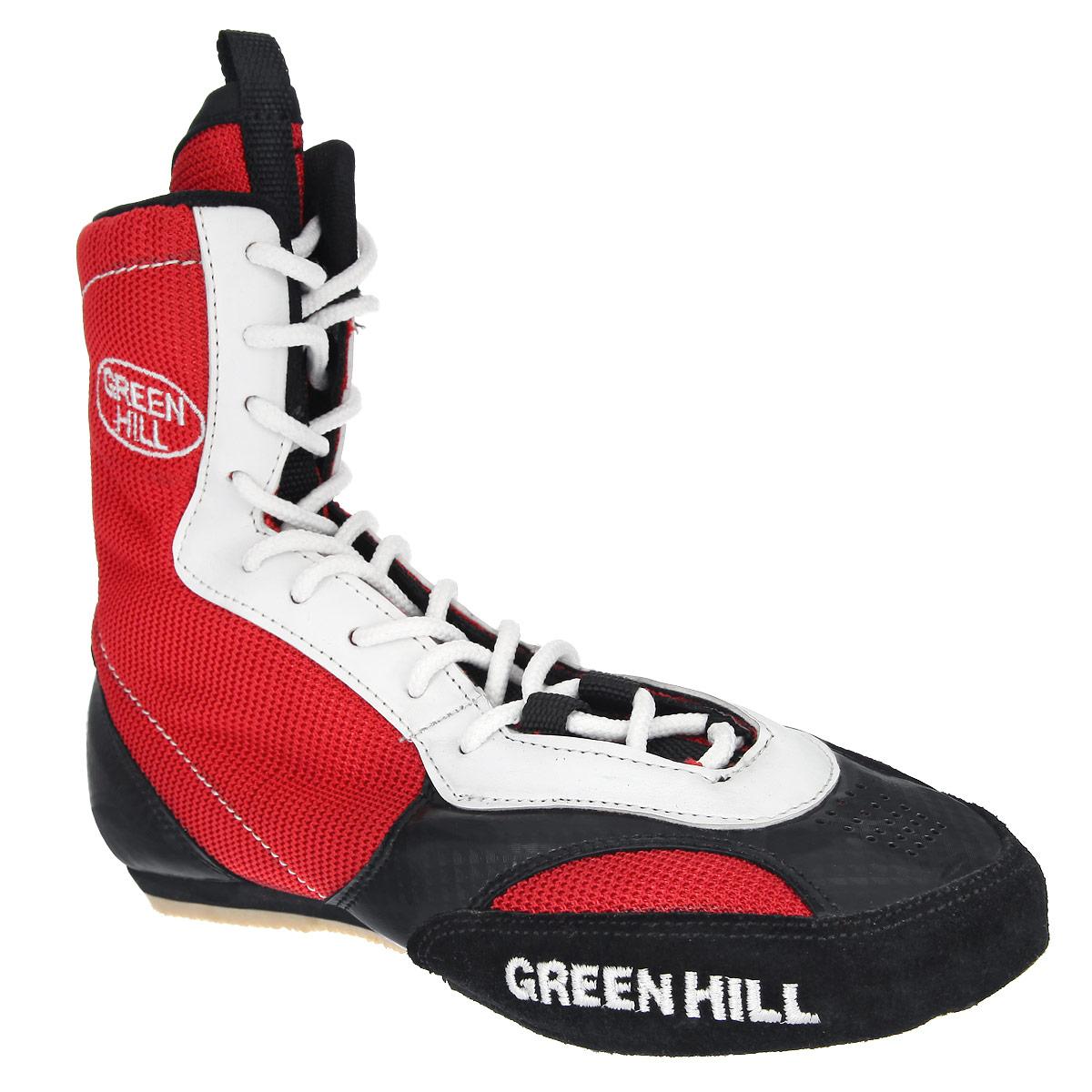 Боксерки Green Hill, цвет: красный. BS-0001. Размер 41