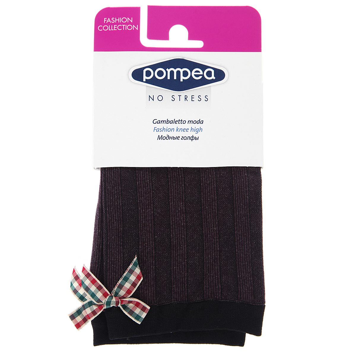 Гольфы женские Pompea Morden Fashion 70, цвет: Blackberry (черничный). 90768989/14039190. Размер универсальный