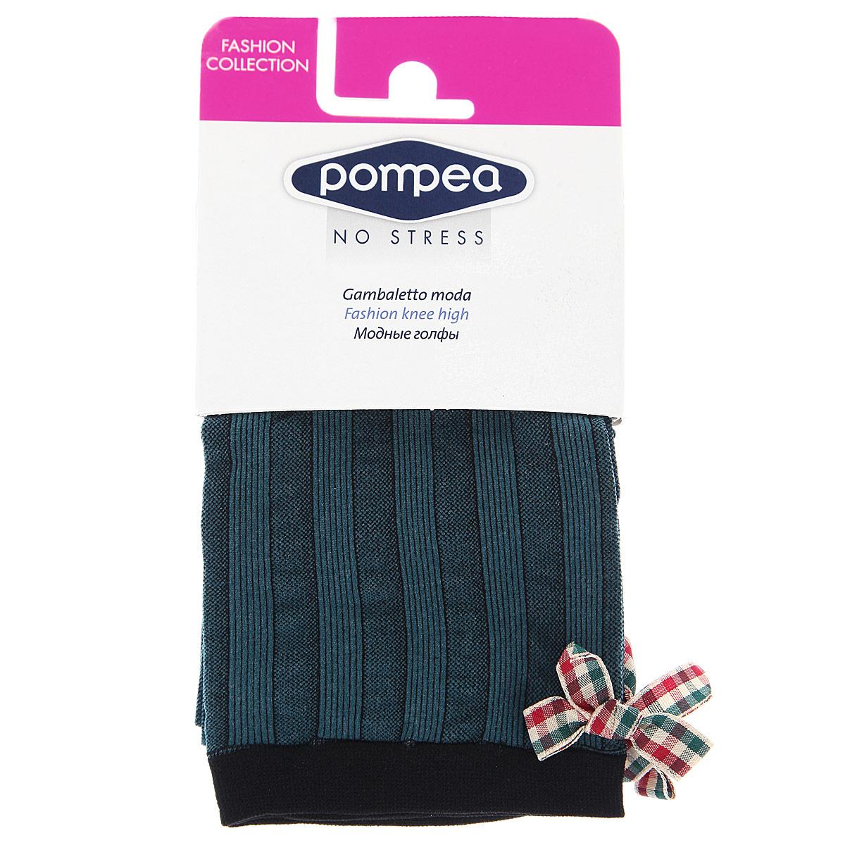 Гольфы женские Pompea Morden Fashion 70, цвет: Petrolio (нефтяной). 90768989. Размер универсальный