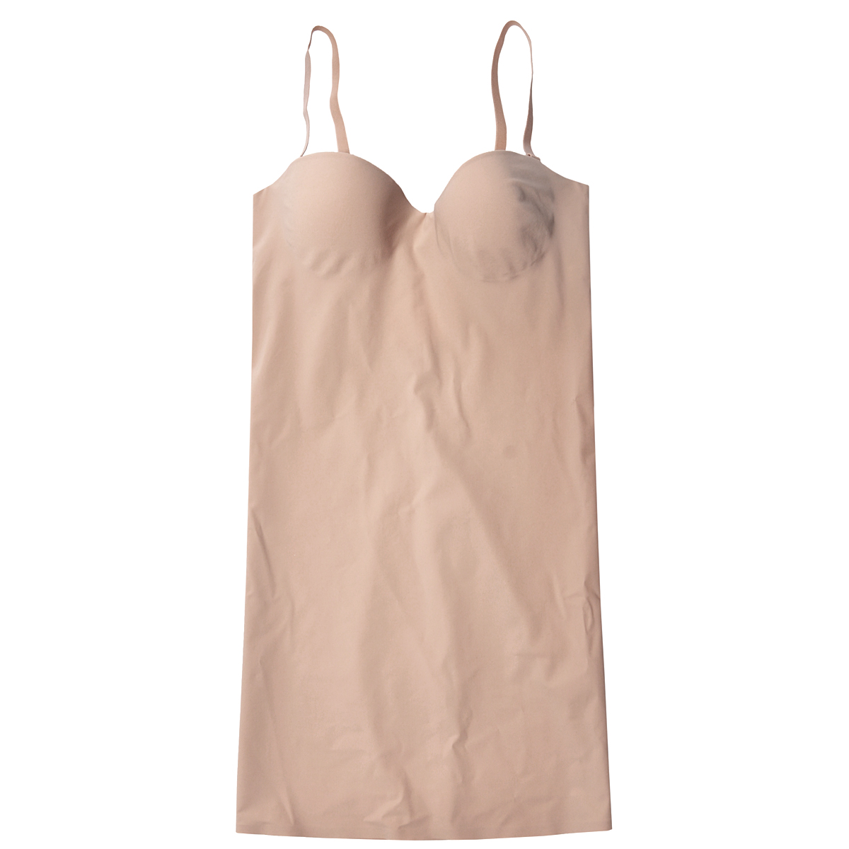Платье Magic BodyFashion Shape-Up Dress, корректирующее, цвет: бежевый. 18SD. Размер 80B