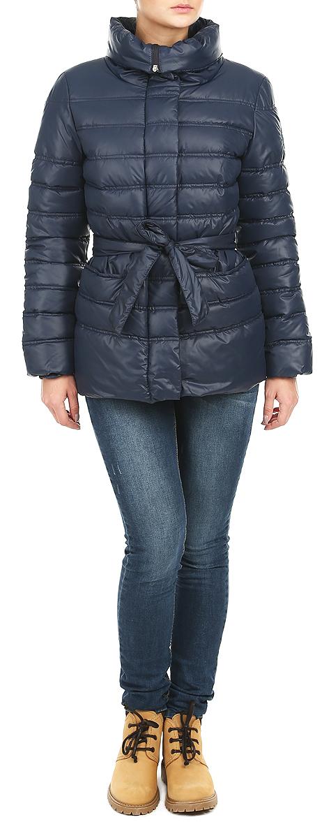 Куртка женская Grishko, цвет: темно-синий. AL-2634. Размер 44