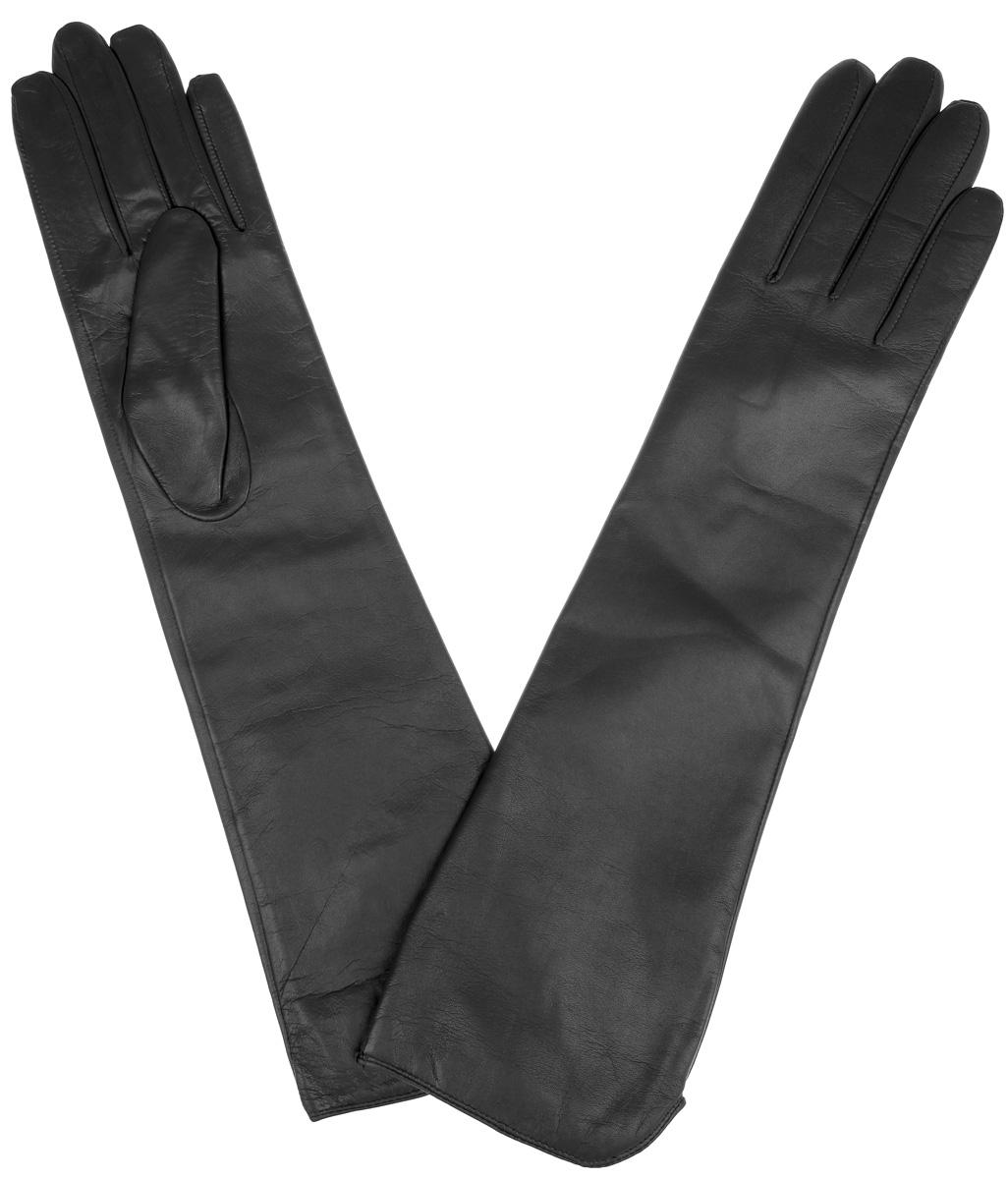 Перчатки женские Labbra, цвет: темно-баклажановый. LB-2002. Размер 7,5LB-2002Элегантные удлиненные женские перчатки Labbra станут великолепным дополнением вашего образа и защитят ваши руки от холода и ветра во время прогулок.Перчатки выполнены из натуральной кожи и имеют подкладку из шерсти с добавлением акрила, что позволяет им надежно сохранять тепло и обеспечивает высокую гигроскопичность. Удлиненные манжеты подчеркнут изящество ваших рук. Такие перчатки будут оригинальным завершающим штрихом в создании современного модного образа, они подчеркнут ваш изысканный вкус и станут незаменимым и практичным аксессуаром.