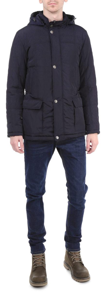 Куртка мужская Grishko, цвет: темно-синий. AL-2650. Размер 48