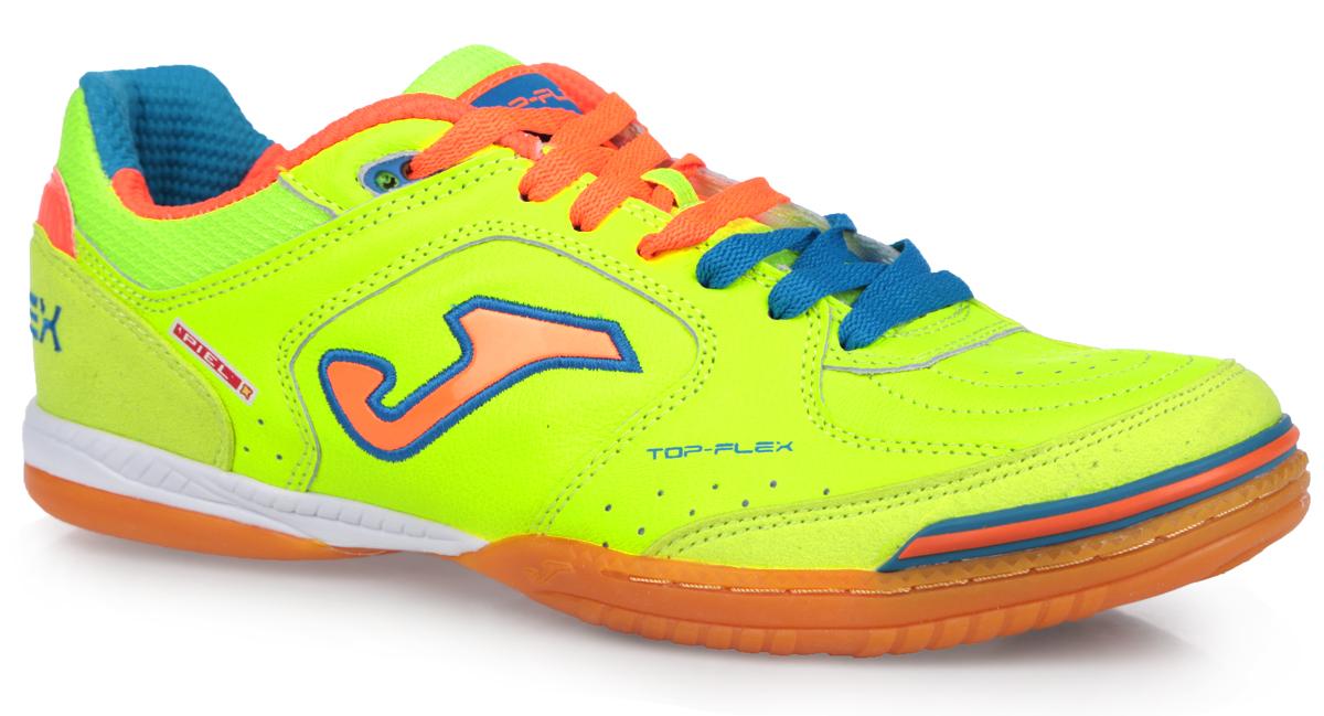 Бутсы мужские Joma Top Flex, цвет: лимонный, голубой, оранжевый. TOPS.411.PS. Размер 10 (43,5)