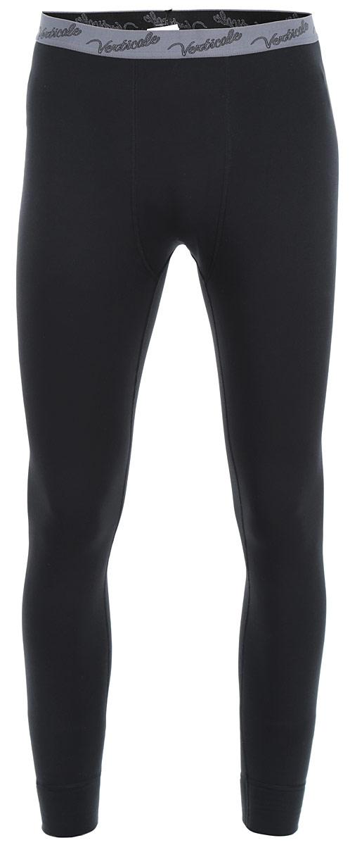 Термобелье кальсоны мужские Verticale Polar, цвет: черный. Размер M (46/48)Кальсоны Verticale POLARСерия термобелья Polar из мягкого и нежного технострейча специально разработана для носки в морозную погоду. Теплое и нежное полотно абсолютно не впитывает влагу, но проводит ее. Даже в намокшем состоянии белье сохраняет теплоизолирующие свойства, не вызывает аллергию.Снизу брючины дополнены широкими эластичными манжетами. Пояс оснащен резинкой с логотипом бренда. Супертеплое термобелье хорошо дышит, долго сохраняет форму, не требует специального ухода.