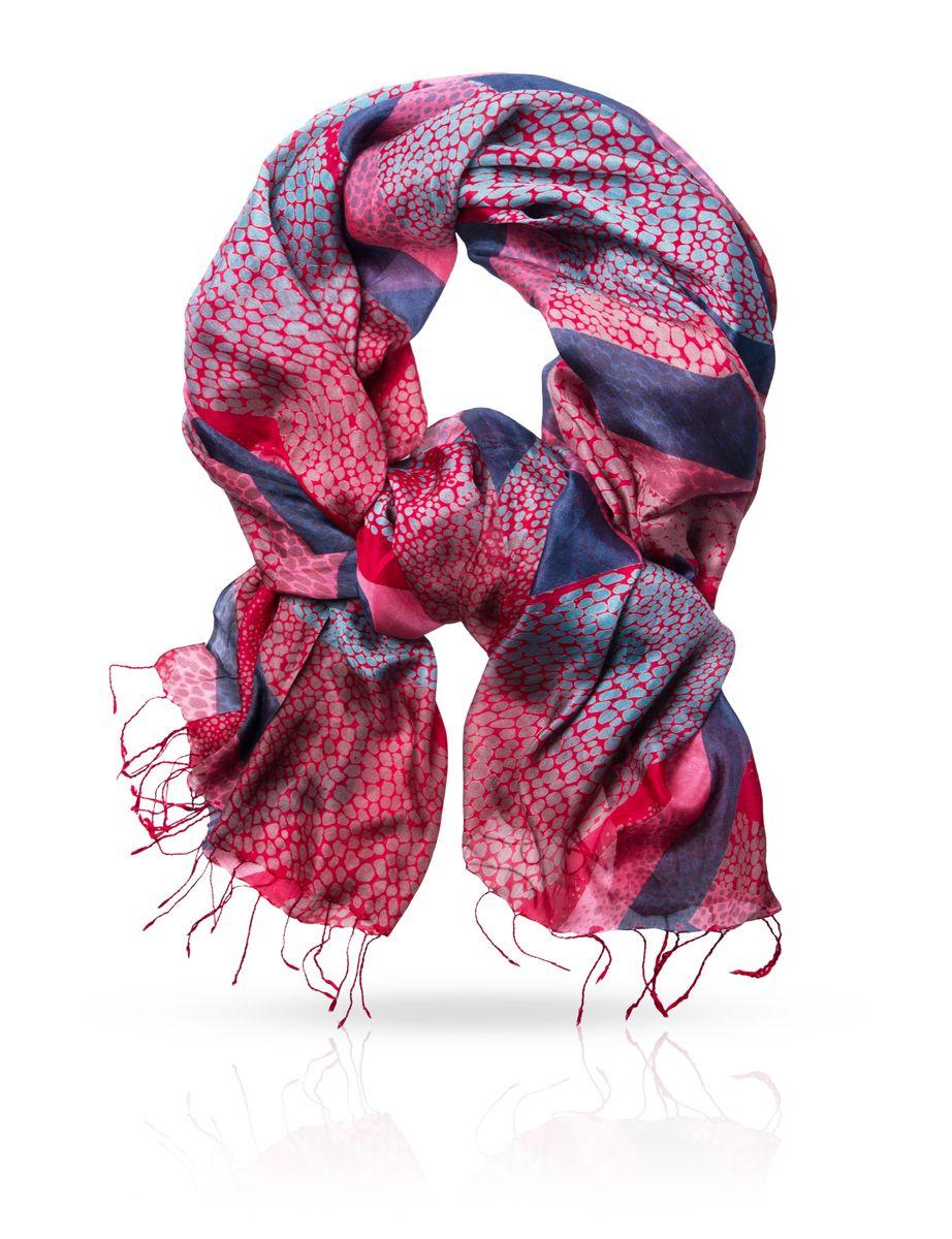 Палантин Michel Katana, цвет: красный, серый, розовый. S-DRAUGHT/RED. Размер 110 см x 180 смS-DRAUGHT/REDОчаровательный палантин Michel Katana подчеркнет ваш неповторимый образ. Изделие выполнено из натурального шелка и оформлено оригинальным принтом. Материал мягкий и приятный на ощупь, хорошо драпируется. Края палантина декорированы кисточками, скрученными в жгутики. Этот модный аксессуар женского гардероба гармонично дополнит образ современной женщины, следящей за своим имиджем и стремящейся всегда оставаться стильной и элегантной.