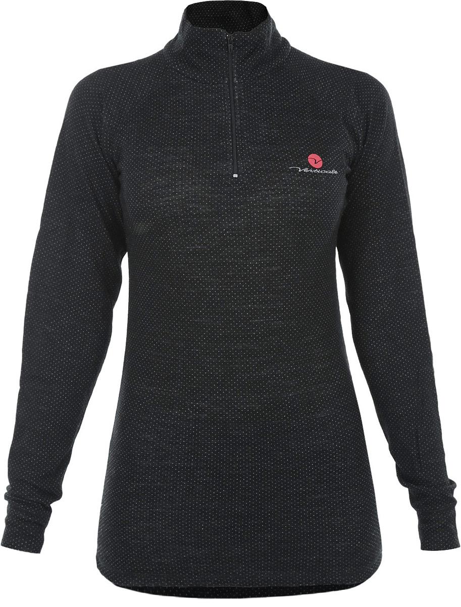Термобелье кофта женская Vertcale Nordic Outdoor, цвет: черный. Размер M (46/48)Фуфайка Vertcale NORDIC с молниейСерия термобелья Outdoor специально разработана для носки в условияхэкстремально низких температур. Красивое и очень комфортное термобелье.Применяется ткань с объемной двухслойной структурой плетения. Отличноесочетание пряжи из натуральной шерсти овец-мериносов и полиэстровоговолокна, которое существенно усиливает стойкость шерстяной пряжи кмеханическому воздействию. Это белье отличает завидная износоустойчивость, ктому же красивый дизайн позволяет носить комплекты как самостоятельныеизделия. Модель сочетает в себе свойства отвода влаги термобелья и теплошерстяной одежды. Горловина застегивается на застежку-молнию. Спинкаудлиненная. Манжеты рукавов оформлены эластичной резинкой.Рекомендуется использовать при малой и средней активности вхолодную и очень холодную погоду. Уважаемые клиенты!Обращаем ваше внимание на измененный дизайн упаковки. Упаковка может отличаться от представленного на изображении. Комплектация осталась без изменений.