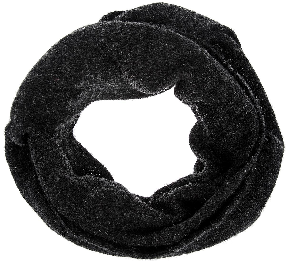 Шарф-хомут Goorin Brothers Sun Valley, цвет: черный. 120-4993. Размер 220 см х 18 см120-4993Шарф-хомут Goorin Brothers Sun Valley невероятно мягкий и приятный на ощупь. Casual стиль шарфа отлично подойдет к вашему гардеробу - носите его с пальто, паркой или курткой. Практичный, удобный и очень теплый аксессуар на каждый день.