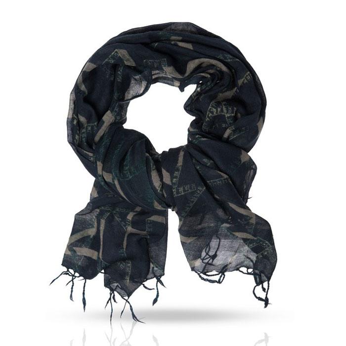 Палантин Michel Katana, цвет: черный, серый. ZW-TAPE/BLACK. Размер 100 см x 200 смZW-TAPE/BLACKОчаровательный палантин Michel Katana подчеркнет ваш неповторимый образ. Изделие выполнено из шерсти и оформлено оригинальным принтом. Материал мягкий и приятный на ощупь, хорошо драпируется. Этот модный аксессуар гармонично дополнит ваш образ и станет отличным дополнением к вашему гардеробу.