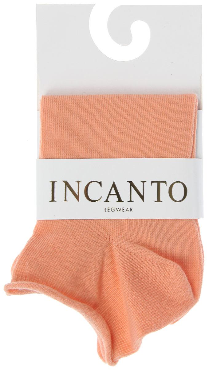 Носки женские Incanto Collant, цвет: оранжевый (Orancino). IBD731001. Размер 2 (36/38)IBD731001_OrancinoЖенские носки Incanto Collant с невысоким паголенком изготовлены из высококачественного сырья. Носки очень мягкие на ощупь, а резинка плотно облегает ногу, не сдавливая ее, благодаря чему вам будет комфортно и удобно. Усиленная пятка и мысок обеспечивают надежность и долговечность.
