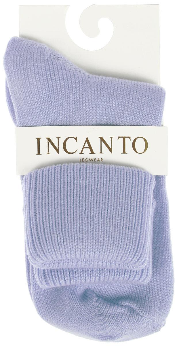 Носки женские Incanto Collant, цвет: голубой (Azzurro). IBD733005. Размер 3 (39/40)IBD733005_AzzurroЖенские теплые носки Incanto Collant изготовлены из высококачественного сырья. Носки очень мягкие на ощупь, оформлены сверху подворотом.