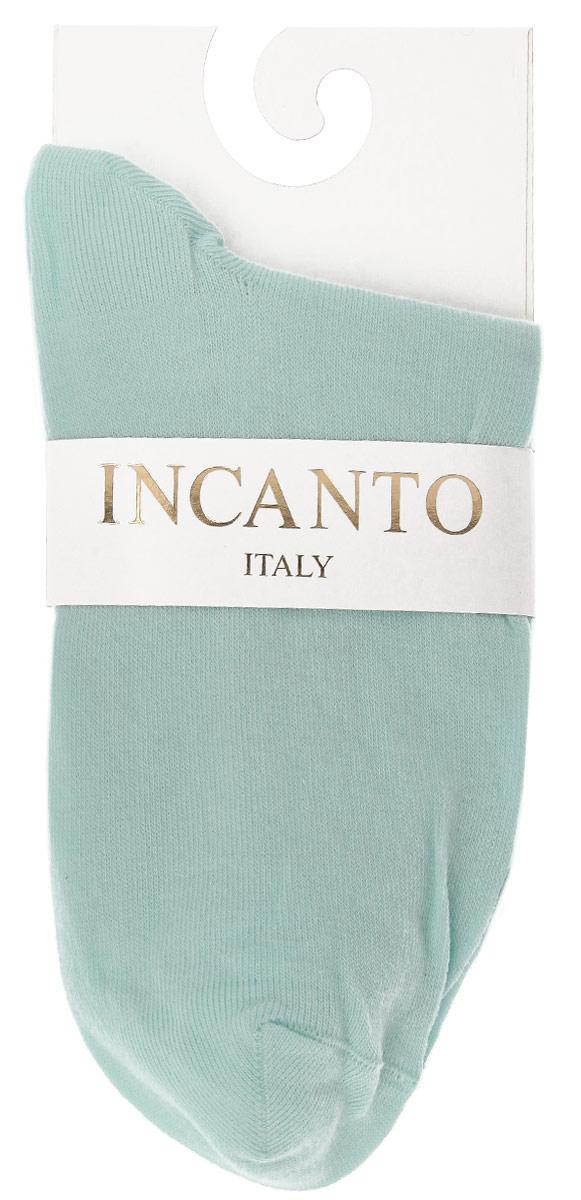 Носки женские Incanto Collant, цвет: светло-бирюзовый (Aqua). IBD733004. Размер 2 (36/38)IBD733004_AquaЖенские носки Incanto Collant изготовлены из высококачественного сырья. Носки очень мягкие на ощупь, а резинка плотно облегает ногу, не сдавливая ее, благодаря чему вам будет комфортно и удобно. Усиленная пятка и мысок обеспечивают надежность и долговечность.