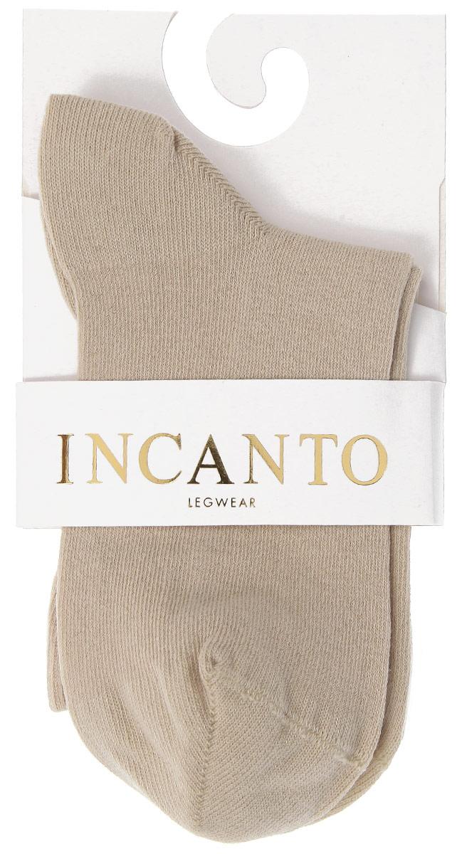 Носки женские Incanto Collant, цвет: песочный (Sabbia). IBD733004. Размер 3 (39/40)IBD733004_SabbiaЖенские носки Incanto Collant изготовлены из высококачественного сырья. Носки очень мягкие на ощупь, а резинка плотно облегает ногу, не сдавливая ее, благодаря чему вам будет комфортно и удобно. Усиленная пятка и мысок обеспечивают надежность и долговечность.