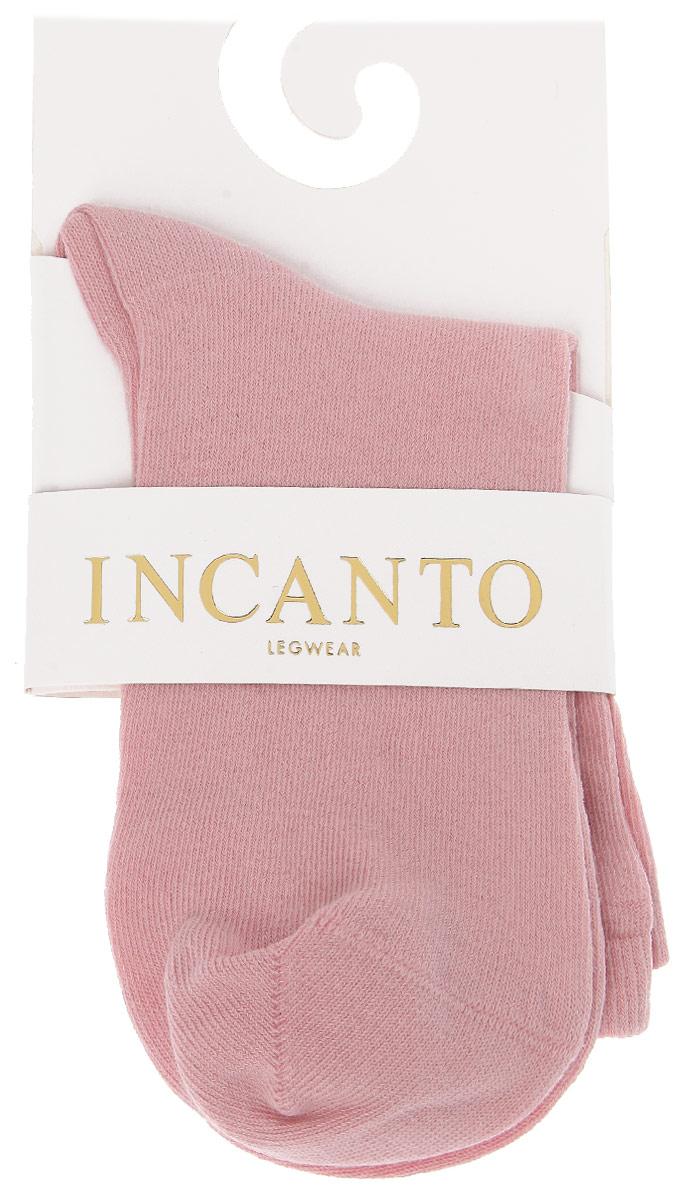 Носки женские Incanto Collant, цвет: античный розовый (Rosa Antico). IBD733004. Размер 2 (36/38)IBD733004_Rosa AnticoЖенские носки Incanto Collant изготовлены из высококачественного сырья. Носки очень мягкие на ощупь, а резинка плотно облегает ногу, не сдавливая ее, благодаря чему вам будет комфортно и удобно. Усиленная пятка и мысок обеспечивают надежность и долговечность.