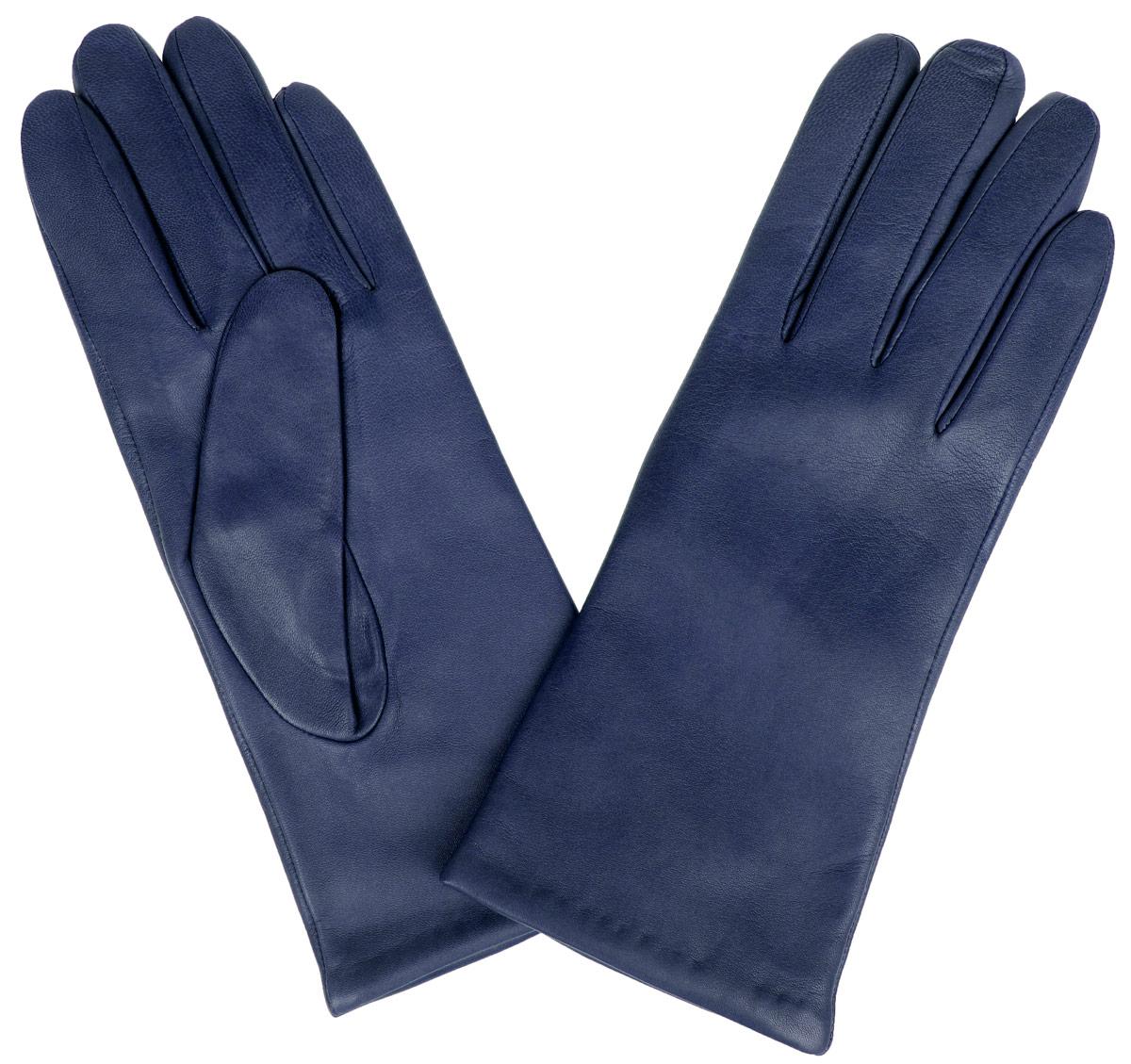 Перчатки женские Eleganzza, цвет: темно-синий. IS0190. Размер 6,5IS0190Стильные женские перчатки Eleganzza не только защитят ваши руки от холода, но и станут великолепным украшением. Перчатки выполнены из натуральной кожи ягненка, подкладка - из 100% искусственного шелка.В настоящее время перчатки являются неотъемлемой принадлежностью одежды, вместе с этим аксессуаром вы обретаете женственность и элегантность. Перчатки станут завершающим и подчеркивающим элементом вашего стиля и неповторимости.