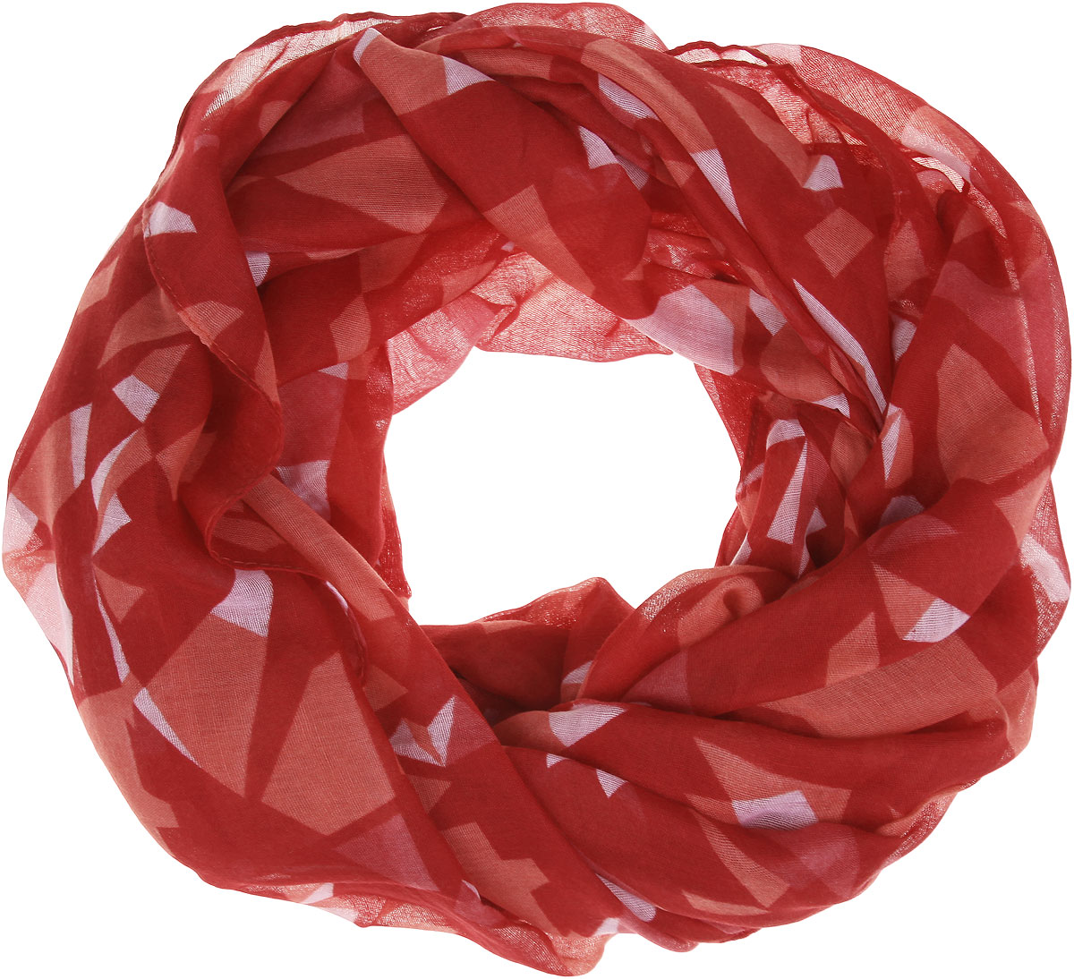 Палантин Sophie Ramage, цвет: красный, лососевый, светло-розовый. SJ-21424-15. Размер 90 см х 180 смSJ-21424-15Палантин Sophie Ramage позволит вам создать неповторимый и запоминающийся образ. Благодаря своему составу, в который входит вискоза с добавлением хлопка, он теплый, мягкий, имеет приятную на ощупь текстуру. Модель оформлена оригинальным принтом. Такой аксессуар станет стильным дополнением к гардеробу современной женщины, а также подаритощущение комфорта, тепла и уюта в прохладную погоду.