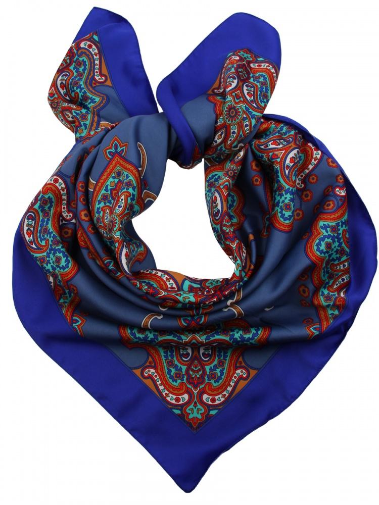 Платок женский Venera, цвет: синий, бирюзовый. 3913983-11. Размер 90 см х 90 см3913983-11Стильный платок Venera станет отличным завершением вашего образа. Платок, выполненный из полиэстера, согреет вас в прохладную погоду, а необычный принт с завораживающими восточными мотивами создаст эффектный образ и внесет изюминку в наряд.Этот модный аксессуар не оставит равнодушной ни одну современную модницу. В этом платке вы всегда будете выглядеть женственной и привлекательной.