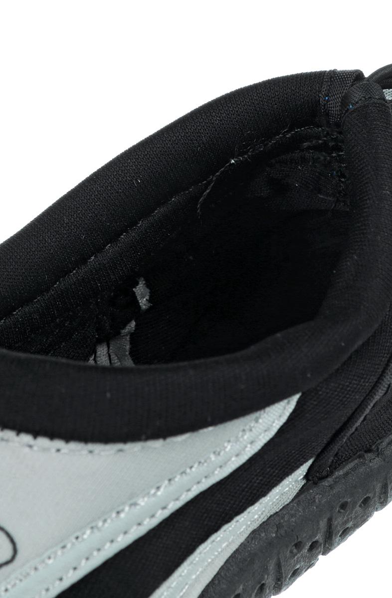 Обувь для кораллов iQ, цвет:  черный, серый.  332515-2800.  Размер 39 iQ