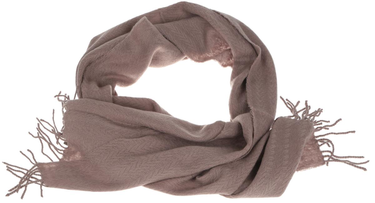 Шарф мужской Eleganzza, цвет: бежевый. U42-5571. Размер 46 см х 172 смU42-5571Элегантный мужской шарф Eleganzza согреет вас в холодное время года, а также станет изысканным аксессуаром, который призван подчеркнуть ваш стиль и индивидуальность. Оригинальный и стильный шарф выполнен из высококачественной шерсти с добавлением кашемира и украшен длинной бахромой в виде жгутиков по краю.Такой шарф станет превосходным дополнением к любому наряду, защитит вас от ветра и холода, и позволит вам создать свой неповторимый стиль.