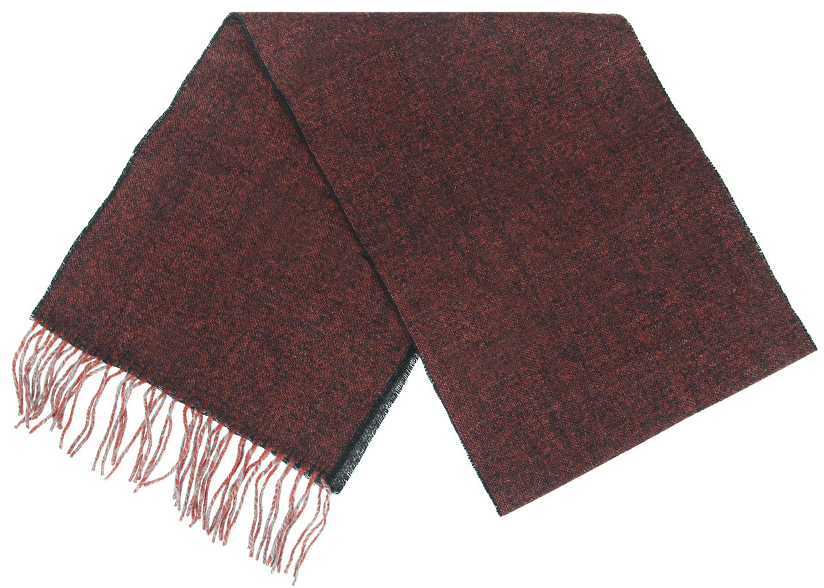 Шарф мужской Flioraj, цвет: терракотовый. 30-40 М1. Размер 30 см х 160 см30-40 М1Элегантный мужской шарф Flioraj согреет вас в холодное время года, а также станет изысканным аксессуаром, который призван подчеркнуть ваш стиль и индивидуальность. Теплый, мягкий, приятный на ощупь шарф не продувается и великолепно сохраняет тепло. Оригинальный и стильный шарф выполнен из высококачественной 100% мериносовой шерсти. Однотонный шарф украшен бахромой в виде жгутиков по краям.Такой шарф станет превосходным дополнением к любому наряду, защитит вас от ветра и холода и позволит вам создать свой неповторимый стиль