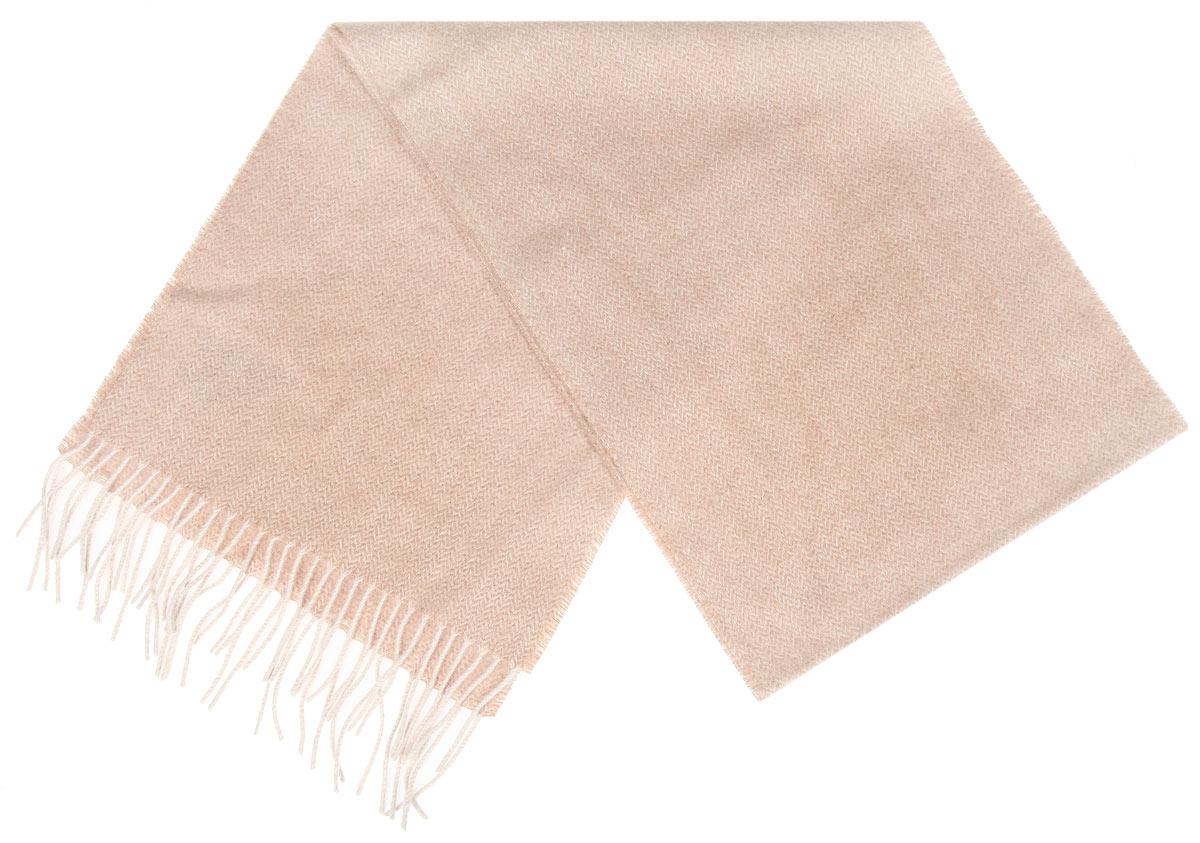 Шарф мужской Flioraj, цвет: бежевый. 30-49 М1. Размер 30 см х 160 см30-49 М1Элегантный мужской шарф Flioraj согреет вас в холодное время года, а также станет изысканным аксессуаром, который призван подчеркнуть ваш стиль и индивидуальность. Теплый, мягкий, приятный на ощупь шарф не продувается и великолепно сохраняет тепло. Оригинальный и стильный шарф выполнен из высококачественной 100% мериносовой шерсти. Однотонный шарф украшен бахромой в виде жгутиков по краям.Такой шарф станет превосходным дополнением к любому наряду, защитит вас от ветра и холода и позволит вам создать свой неповторимый стиль