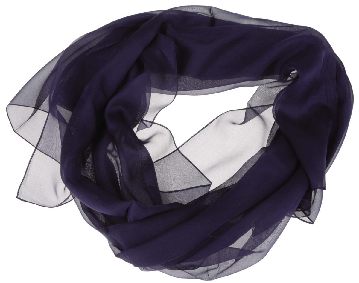 Шарф женский Fabretti, цвет: сине-фиолетовый. CX1516-61-2. Размер 180 см х 90 смCX1516-61-2Стильный женский платок Fabretti станет великолепным завершением любого наряда. Платок изготовлен из высококачественного шелка. Вы сможете сочетать этот оригинальный однотонный платок с любыми нарядами. Классическая квадратная форма позволяет носить платок на шее, украшать им прическу или декорировать сумочку. Мягкий и шелковистый платок поможет вам создать изысканный женственный образ, а также согреет в непогоду. Такой платок превосходно дополнит любой наряд и подчеркнет ваш неповторимый вкус и элегантность.
