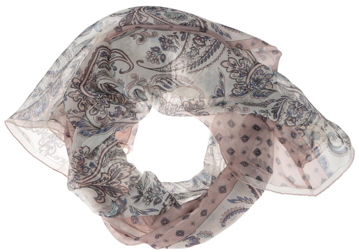 Шарф женский Fabretti, цвет: светло-коричневый, бежевый, мультиколор. CX1516-57-4. Размер 180 см х 65 смCX1516-57-4Стильный женский шарф Fabretti станет великолепным завершением любого наряда. Шарф изготовлен из шелка и оформлен изысканным орнаментом. Края шарфа обработаны ручным швом.Мягкий и шелковистый шарф поможет вам создать изысканный женственный образ, а также согреет в непогоду.Такой шарф превосходно дополнит любой наряд и подчеркнет ваш неповторимый вкус и элегантность.