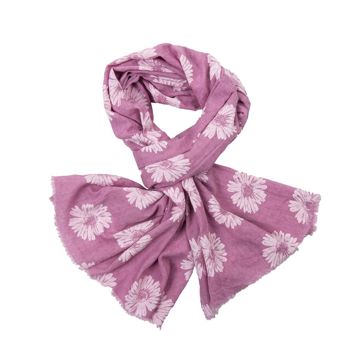Палантин женский Модные истории, цвет: розовый, бледно-розовый. 21/0442/117. Размер 70 см х 180 см21/0442/117Легкий палантин с цветочным узором подчеркнет ваш стильный образ. Он выполнен из хлопка, льна, полиэстера. Легко и красиво драпируется.Этот модный аксессуар женского гардероба гармонично дополнит образ современной женщины, следящей за своим имиджем и стремящейся всегда оставаться стильной и элегантной.