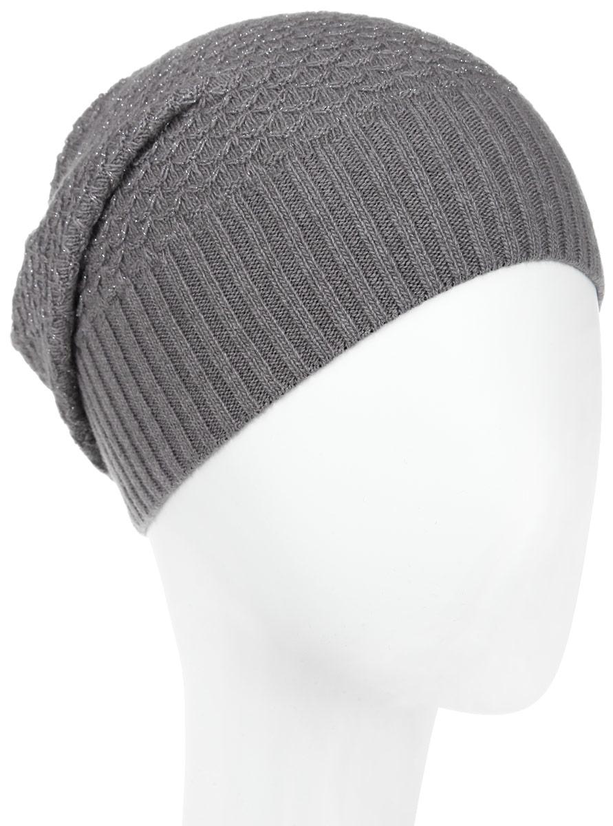 Шапка женская Marhatter, цвет: серый. MWH8. Размер 56/58MWH8_012Стильная женская шапка Marhatter отлично дополнит ваш образ в холодную погоду. Выполненная из пряжи с содержанием кашемира и шерсти мериноса, шапка максимально сохраняет тепло и обеспечивает удобную посадку, невероятную легкость и мягкость.Модная шапка Marhatter подчеркнет ваш неповторимый стиль и индивидуальность.Уважаемые клиенты!Размер, доступный для заказа, является обхватом головы.
