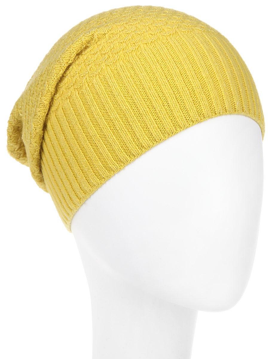 Шапка женская Marhatter, цвет: горчичный. MWH8. Размер 56/58MWH8_018Стильная женская шапка Marhatter отлично дополнит ваш образ в холодную погоду. Выполненная из пряжи с содержанием кашемира и шерсти мериноса, шапка максимально сохраняет тепло и обеспечивает удобную посадку, невероятную легкость и мягкость.Модная шапка Marhatter подчеркнет ваш неповторимый стиль и индивидуальность.Уважаемые клиенты!Размер, доступный для заказа, является обхватом головы.