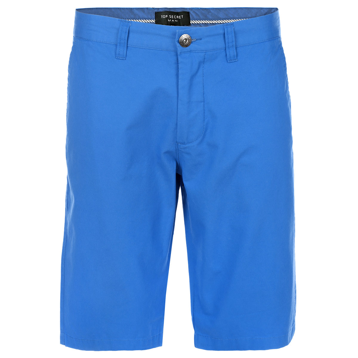 Шорты мужские Top Secret, цвет: голубой. SSZ0690NI34. Размер 34 (50)