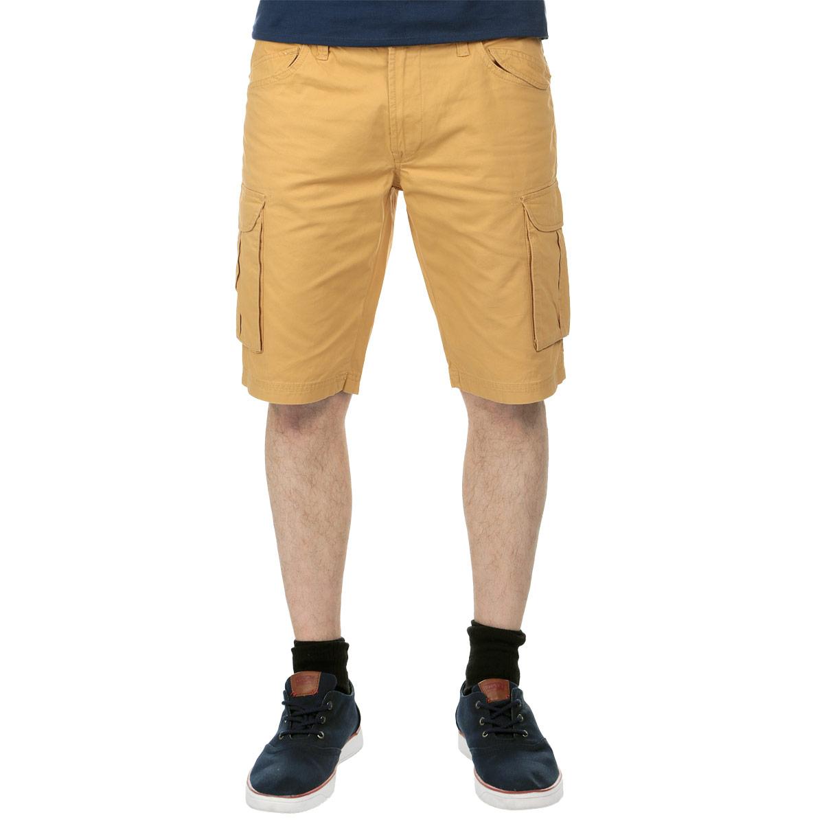 Шорты мужские Top Secret, цвет: оранжевый. SSZ0701PO34. Размер 34 (50)SSZ0701POСтильные шорты Top Secret, изготовленные из натурального хлопка, подойдут любому мужчине, который ценит комфорт и оригинальность. Эта модель станет отличным дополнением к вашему современному образу. Шорты-бермуды на талии застегиваются на пластиковую пуговицу, также имеются ширинка на застежке-молнии и шлевки для ремня. Модель спереди дополнена двумя втачными карманами с декоративными клапанами, а сзади - двумя прорезными карманами с клапанами. Также по бокам предусмотрены вместительные накладные карманы с клапанами.Эти модные и удобные шорты послужат отличным дополнением к вашему гардеробу. В них вы всегда будете чувствовать себя уверенно и комфортно.