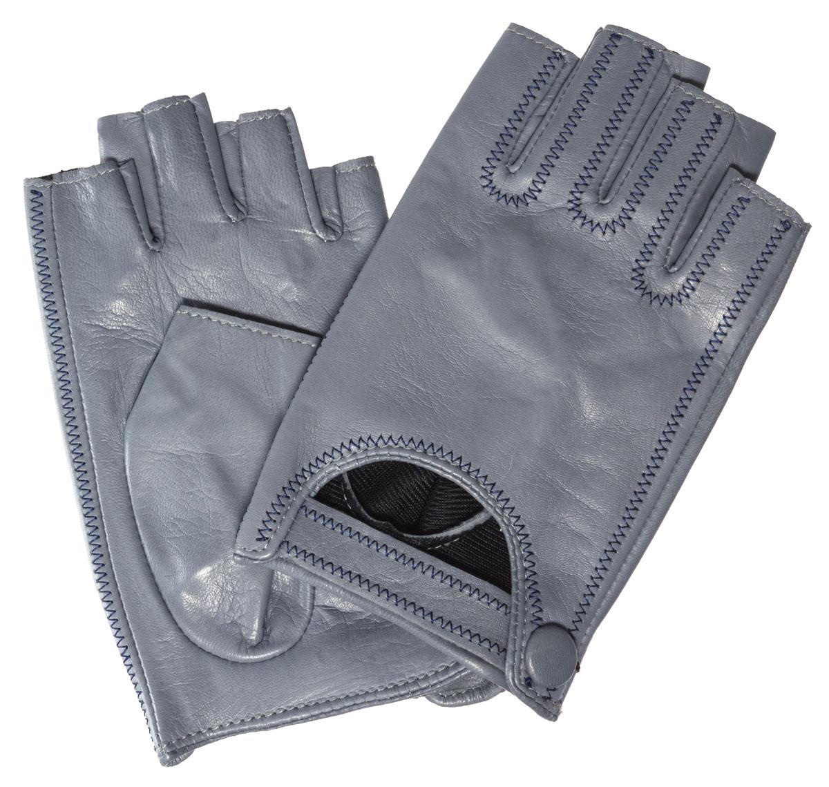 Митенки женские Eleganzza, цвет: серый. IS03015. Размер 6,5IS03015Лаконичные митенки Eleganzza изготовлены из гладкой, невероятно мягкой натуральной кожи ягненка. Внешняя часть декорирована вырезом с ремешком на кнопке. Оформлено изделие контрастной строчкой. Первоначально митенки использовались для защиты от холода при выполнении работ, требующих подвижности пальцев. Но начиная с XVIII века митенки стали использоваться как модный женский аксессуар, дамы носили митенки и в помещениях, соответственно митенки выполняли больше эстетическую, а не практическую функцию. Такая мода продержалась и в XIX веке. Использовались как простые вязаные митенки, так и кружевные, причем они могли по длине доходить как до середины руки, так и до локтя. В России митенки использовались еще в XIX веке и считались женскими перчатками. В настоящий момент митенки используются как женщинами, так и мужчинами, но все-таки в большей степени считаются женским аксессуаром одежды!