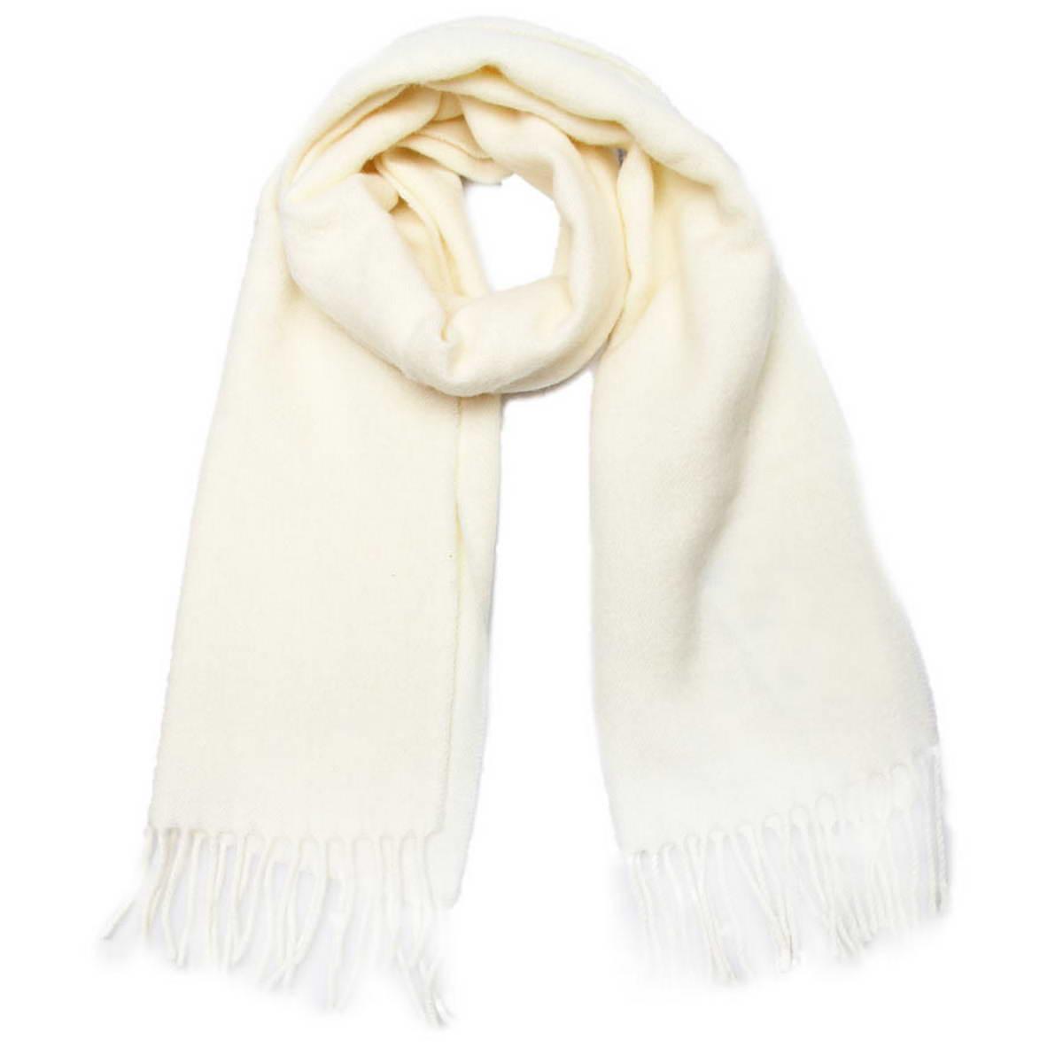 Шарф Venera, цвет: молочный. 5002432-5. Размер 30 см х 145 см5002432-5Классический однотонный шарф Venera, выполненный из натуральной шерсти, создан подчеркнуть ваш неординарный вкус и согреть вас в прохладное время года. Модель дополнена кисточками по краям, несмотря на простой дизайн, аксессуар сделает ваш образ стильным и завершенным.Этот модный аксессуар не только согреет вас в холодное время года, но гармонично дополнит ваш образ.