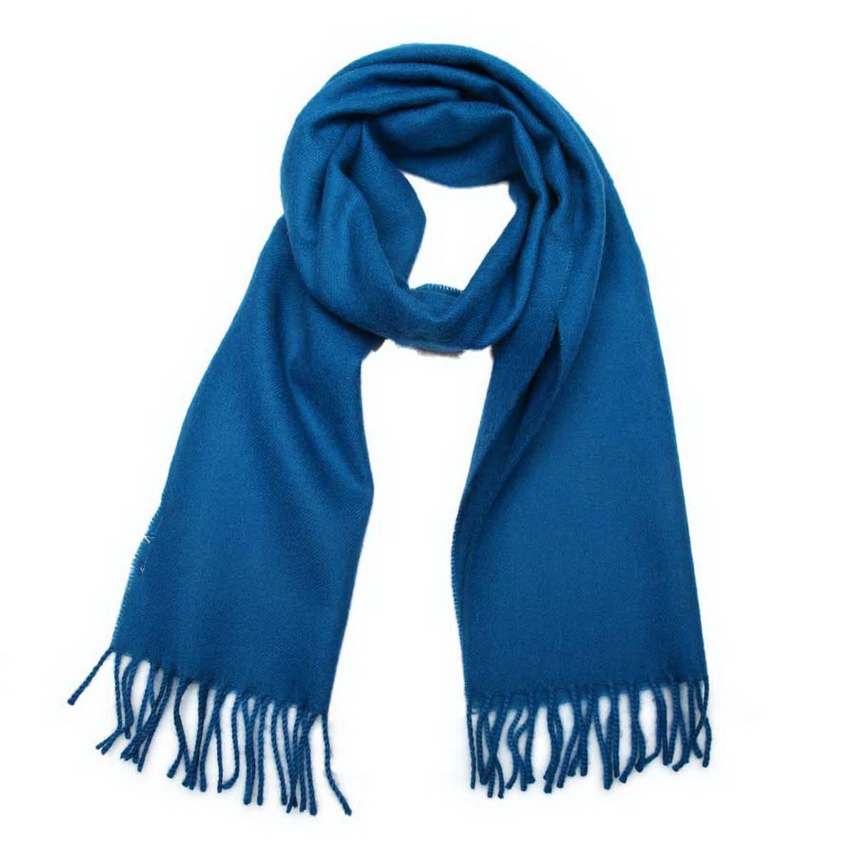 Шарф Venera, цвет: синий. 5002432-13. Размер 30 см х 145 см5002432-13Классический однотонный шарф Venera, выполненный из натуральной шерсти, создан подчеркнуть ваш неординарный вкус и согреть вас в прохладное время года. Модель дополнена кисточками по краям, несмотря на простой дизайн, аксессуар сделает ваш образ стильным и завершенным.Этот модный аксессуар не только согреет вас в холодное время года, но гармонично дополнит ваш образ.