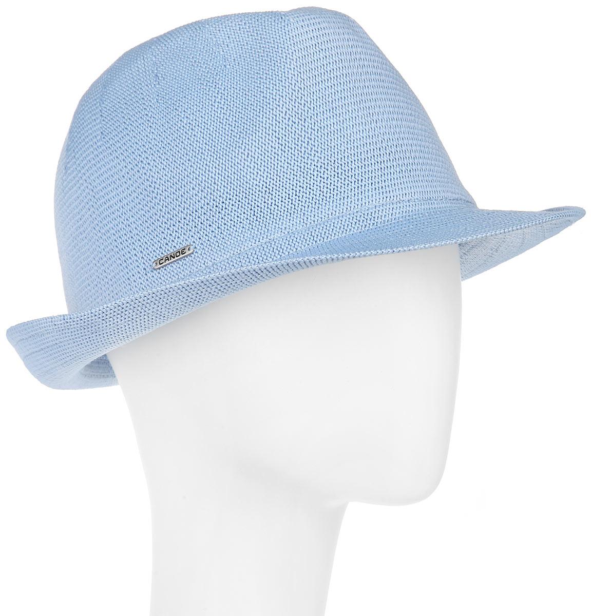 Шляпа Canoe Puerto-Rico, цвет: голубой. 1967284. Размер 58/591967284Модная шляпа Canoe Puerto-Rico, выполненная из полиэстера и акрила, украсит любой наряд.Шляпа оформлена небольшим металлическим логотипом фирмы. Благодаря своей форме, шляпа удобно садится по голове и подойдет к любому стилю. Она легко восстанавливает свою форму после сжатия.Такая шляпка подчеркнет вашу неповторимость и дополнит ваш повседневный образ.