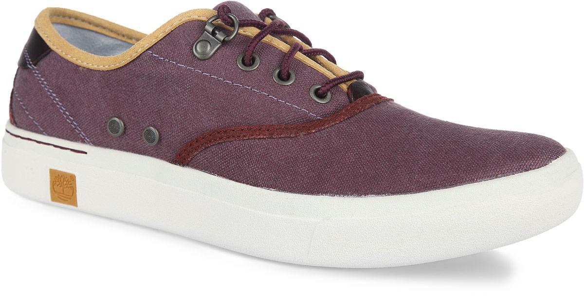 Кеды женские Timberland Amherst Oxford, цвет: пурпурный, черный. TBLA12GBM. Размер 9,5 (40)TBLA12GBMМодные женские кеды Amherst Oxford от Timberland заинтересуют вас своим дизайном с первого взгляда! Модель изготовлена из прочного текстиля со вставками из натуральной кожи. Обувь оформлена сбоку двумя декоративными элементами из металла, на подошве - логотипом бренда. Шнуровка прочно зафиксирует обувь на вашей ноге. Стелька из материала EVA с текстильной поверхностью комфортна при движении. Подошва с технологией SensorFlex обеспечивает превосходную амортизацию. Рифление на подошве гарантирует идеальное сцепление с любой поверхностью. Стильные и удобные кеды займут достойное место в вашем гардеробе.