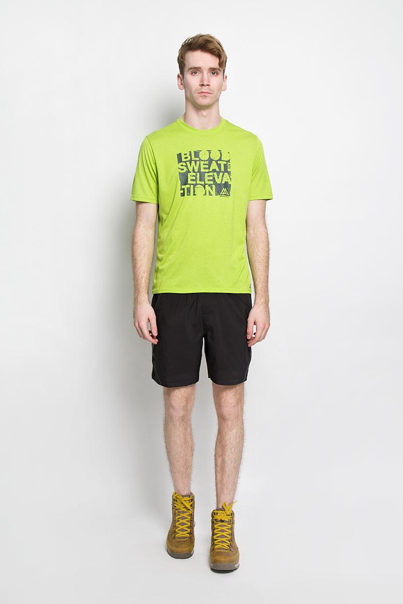 Футболка для фитнеса мужская The North Face M MA GRP Reax AMP, цвет: лайм. T0CE0PELB. Размер M (46/48)