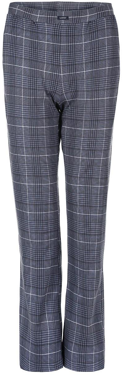 Брюки мужские Lowry, цвет: серо-синий, белый. MTL-2. Размер S (44-34)MTL-2Мужские брюки Lowry выполнены из хлопка с добавлением лайкры. Такая модель не сковывает свободу движений, а благодаря стильному дизайну, они прекрасно впишутся в ваш гардероб.В таких брюках вы будете чувствовать себя комфортно и дома, и на отдыхе.