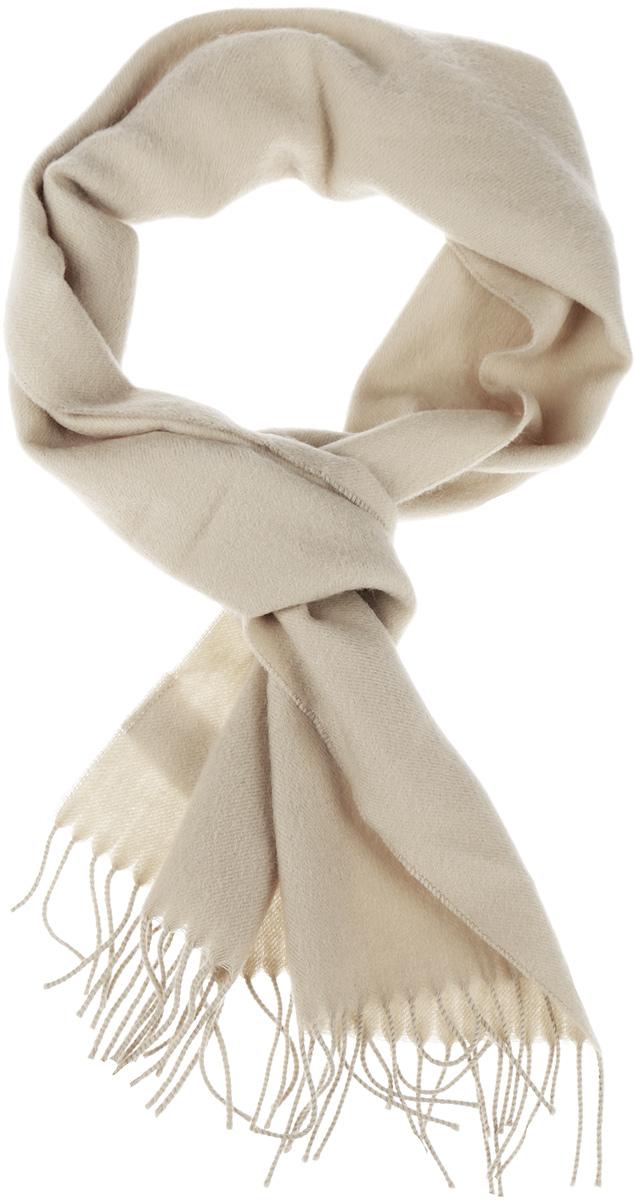Шарф Venera, цвет: бежевый. 5002432-1. Размер 30 см х 145 см5002432-1Классический однотонный шарф Venera, выполненный из натуральной шерсти, создан подчеркнуть ваш неординарный вкус и согреть вас в прохладное время года. Модель дополнена кисточками по краям, несмотря на простой дизайн, аксессуар сделает ваш образ стильным и завершенным.Этот модный аксессуар не только согреет вас в холодное время года, но гармонично дополнит ваш образ.