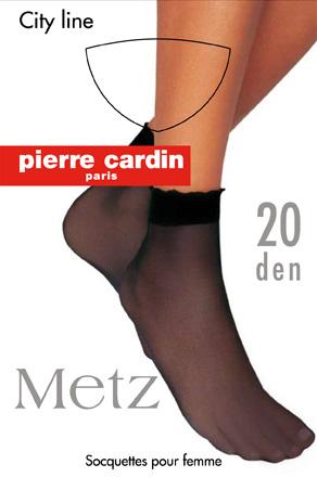 Носки женские Pierre Cardin Cr Metz, цвет: Nero (черный). Размер 3 (35/41)Cr MetzЖенские носки Pierre Cardin Cr Metz выполнены из полиамида с добавлением эластана, оснащены широкой комфортной резинкой и прозрачным укрепленным мыском. Плотность: 20 Den.