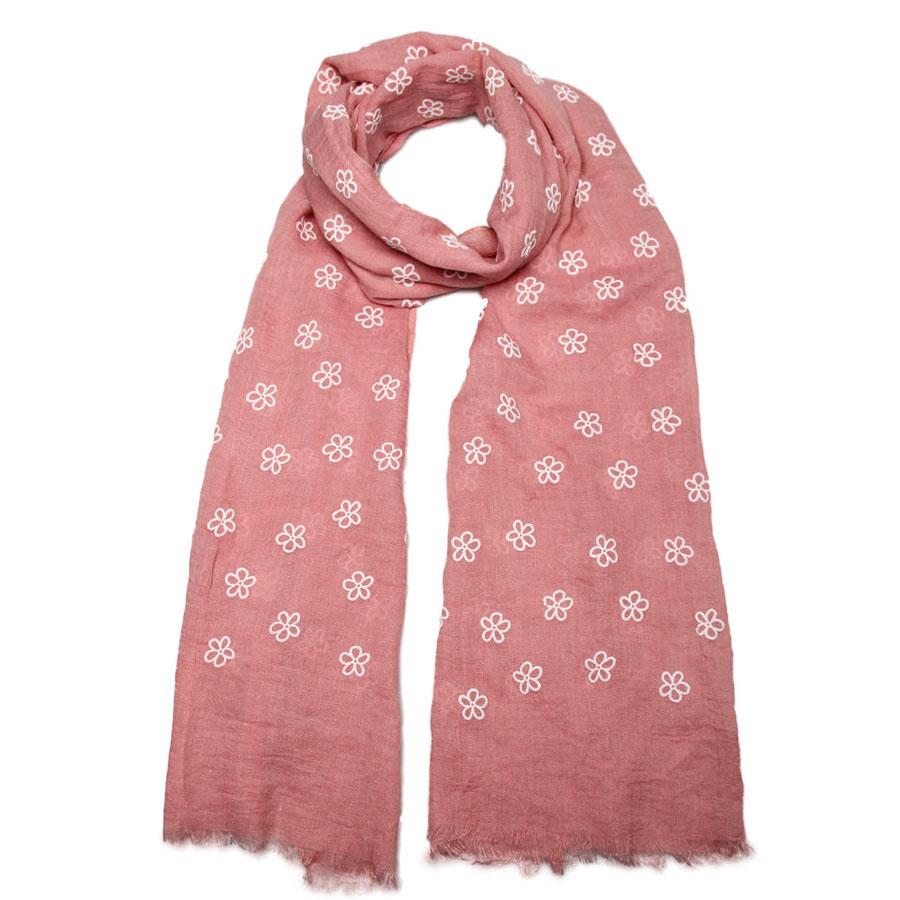 Палантин женский Venera, цвет: розовый, белый. 3414001-05. Размер 70 см х 180 см3414001-05Элегантный палантин Venera согреет вас в непогоду и станет достойным завершением вашего образа.Палантин изготовлен из вискозы с добавлением шелка. Легкий и приятный на ощупь палантин классического кроя оформлен цветочным принтом. Края оформлены бахромой. Палантин красиво драпируется, он превосходно дополнит любой наряд и подчеркнет ваш изысканный вкус.Легкий и изящный палантин привнесет в ваш образ утонченность и шарм.
