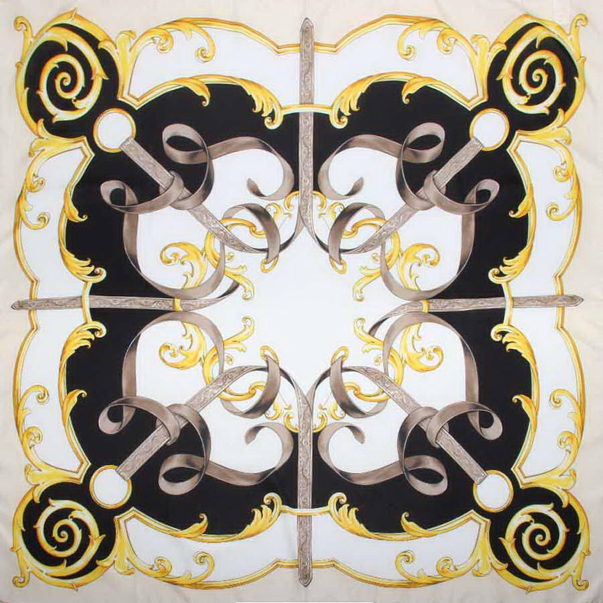 Платок женский Venera, цвет: черный, серый, желтый. 3904972-8. Размер 90 см х 90 см3904972-8Женственный аксессуар, платок из полиэстера, нежный и легкий, приятный к коже и отлично драпируется, яркие оттенки очаровательных цветков внесут в Ваш образ очарование и шарм.