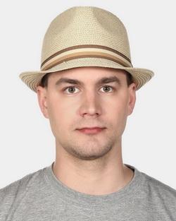 Шляпа мужская Canoe Habit, цвет: бежевый. 1961503. Размер 591961503Классическая шляпа Canoe Habit непременно украсит любой наряд.Шляпа из искусственной соломы оформлена трикотажным ремешком с логотипом фирмы вокруг тульи. Благодаря своей форме, шляпа удобно садится по голове и подойдет к любому стилю.Такая шляпа подчеркнет вашу неповторимость и дополнит ваш повседневный образ.