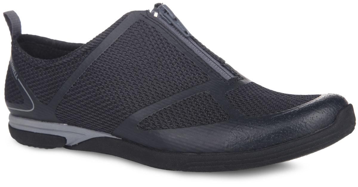 Кроссовки женские Merrell Ceylon Sport Zip, цвет: черный. 55102. Размер 5H (35)55102Стильные женские кроссовки Merrell Ceylon Sport Zip имеют современный дизайн и высокие технологии. Модель подходит для путешествий и для повседневной носки. Подъем дополнен молнией, что облегчает одевание модели. Запатентованные технологии Air Cushion и M Select Move для вашего комфорта. Благодаря протектору подошва M Select Grip улучшает сцепление со скользкой поверхностью.