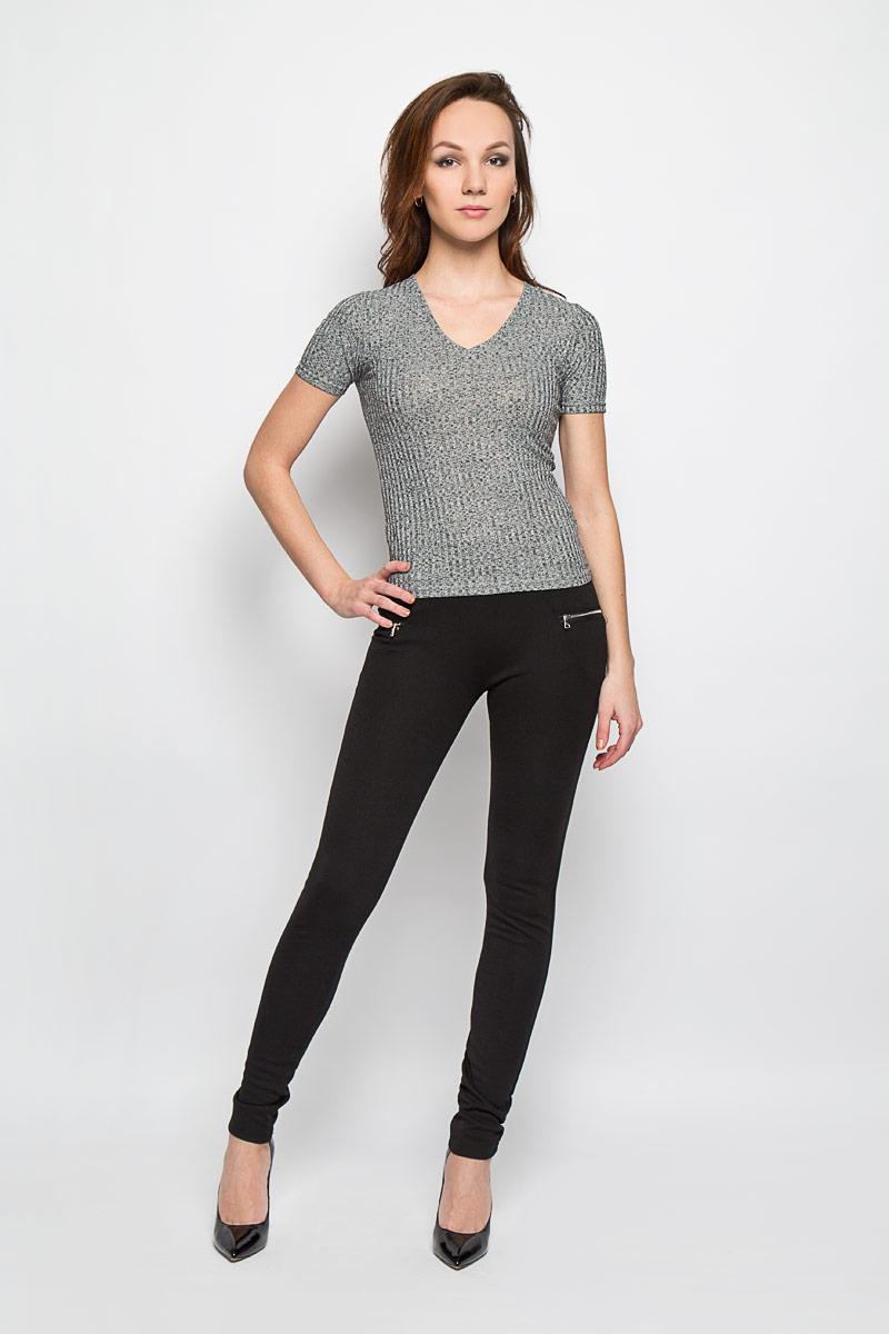 Брюки женские Moodo, цвет: черный. L-SP-2009 BLACK. Размер S (44)L-SP-2009_BLACKСтильные женские брюки Moodo выполнены из полиэстера с добавлением эластана. Брюки-скинни, имеющие завышенную посадку, станут отличным дополнением к вашему образу. Благодаря эластичному ремню изделие легко снимать и одевать. Спереди и сзади модель оформлена имитацией прорезных кармашков. Эти модные и в тоже время комфортные брюки послужат отличным дополнением к вашему гардеробу. В них вы всегда будете чувствовать себя уютно и комфортно.