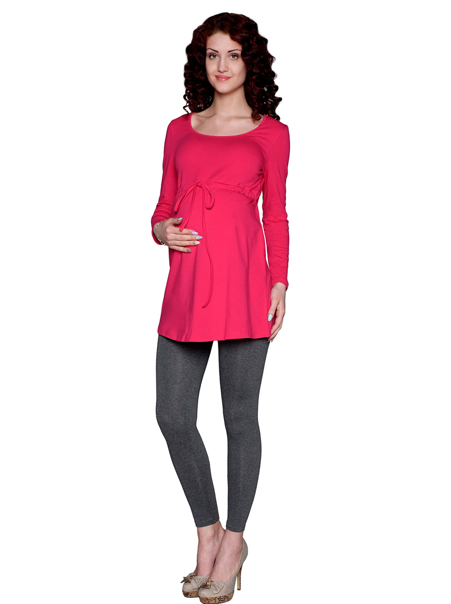 Туника для беременных Фэст, цвет: фуксия. 1-194505Е. Размер XXL (52)1-194505ЕЗамечательная однотонная туника, выполнена из натурального трикотажного полотна. Отличный повседневный вариант. Фэст — одежда по вашей фигуре.