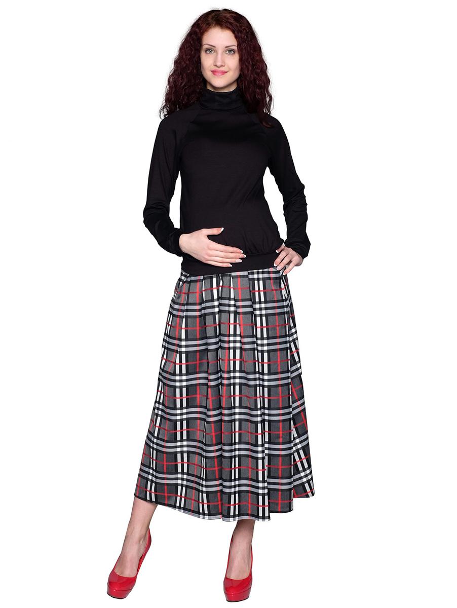 Водолазка для беременных Фэст, цвет: черный. 88509Е. Размер XS (42)88509ЕВодолазка с рукавом-реглан - базовая вещь для повседневного гардероба. В области талии мягкая сборка, обеспечивающая оптимальную посадку изделия на любом сроке беременности. Фэст - одежда по вашей фигуре.