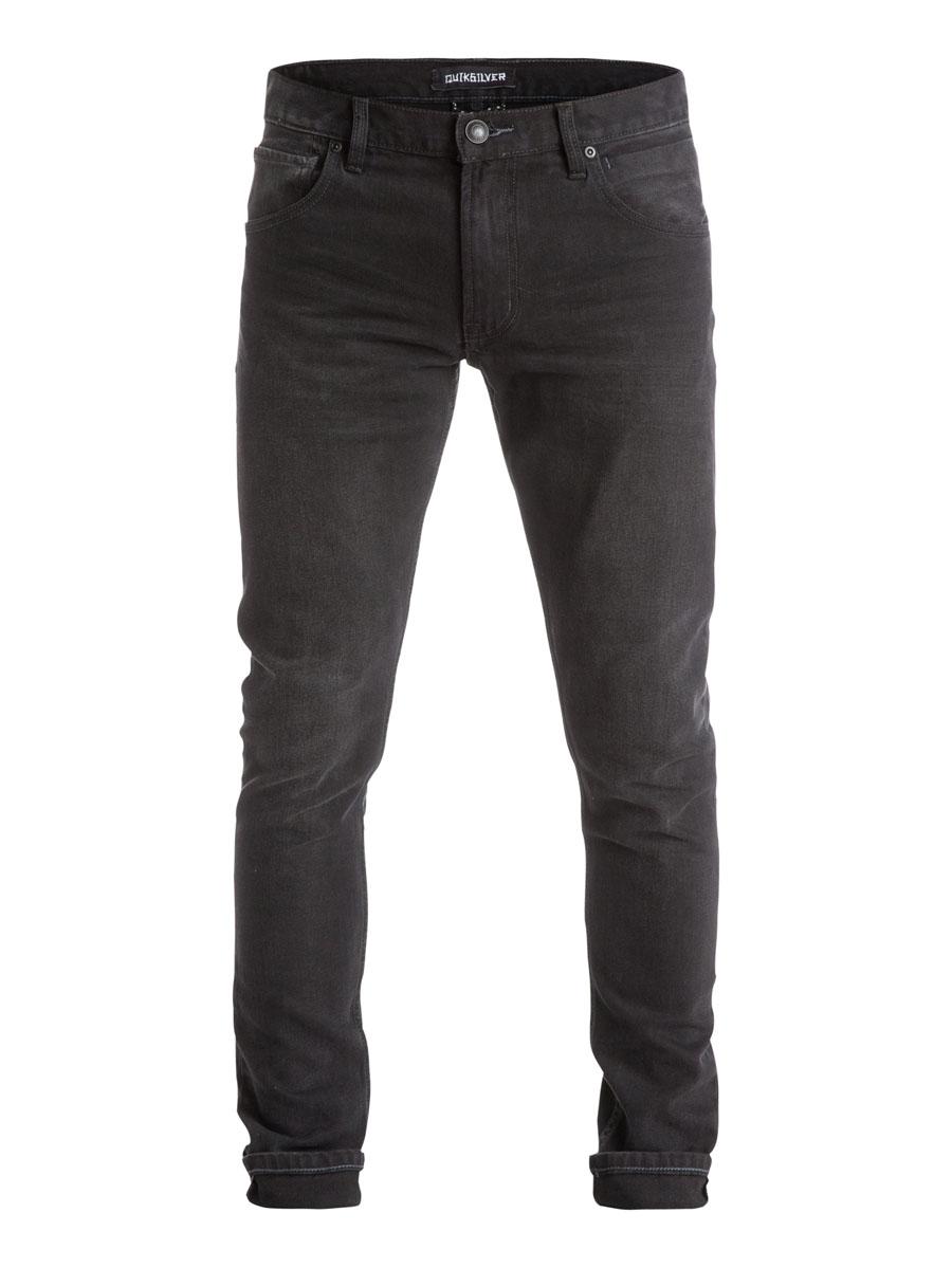 Джинсы мужские Quiksilver, цвет: черный. EQYDP03186-KVKW. Размер 32-32 (48-32)EQYDP03186-KVKWСтильные мужские джинсы Quiksilver изготовлены из эластичного хлопка. Модель зауженного кроя застегивается на пуговицу и ширинку на застежке-молнии, имеются шлевки для ремня. Спереди модель оформлена тремя врезными карманами и одним секретными кармашком, а сзади - двумя накладными карманами.